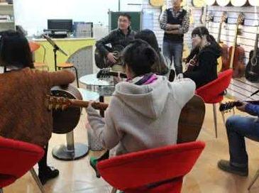 在绍兴,吉他公开课一起约