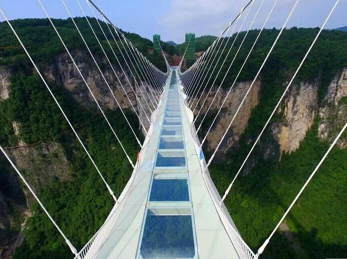 高铁出行、张家界玻璃栈道、大峡谷玻璃吊桥