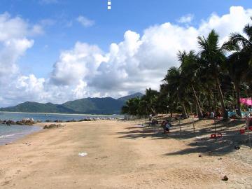 阳江大树岛海滩宿营,吃海鲜,游泳摄影