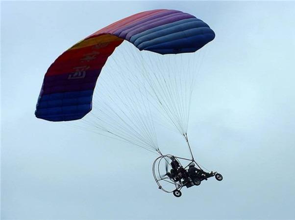 10.1放飞特辑,乘坐动力滑翔伞