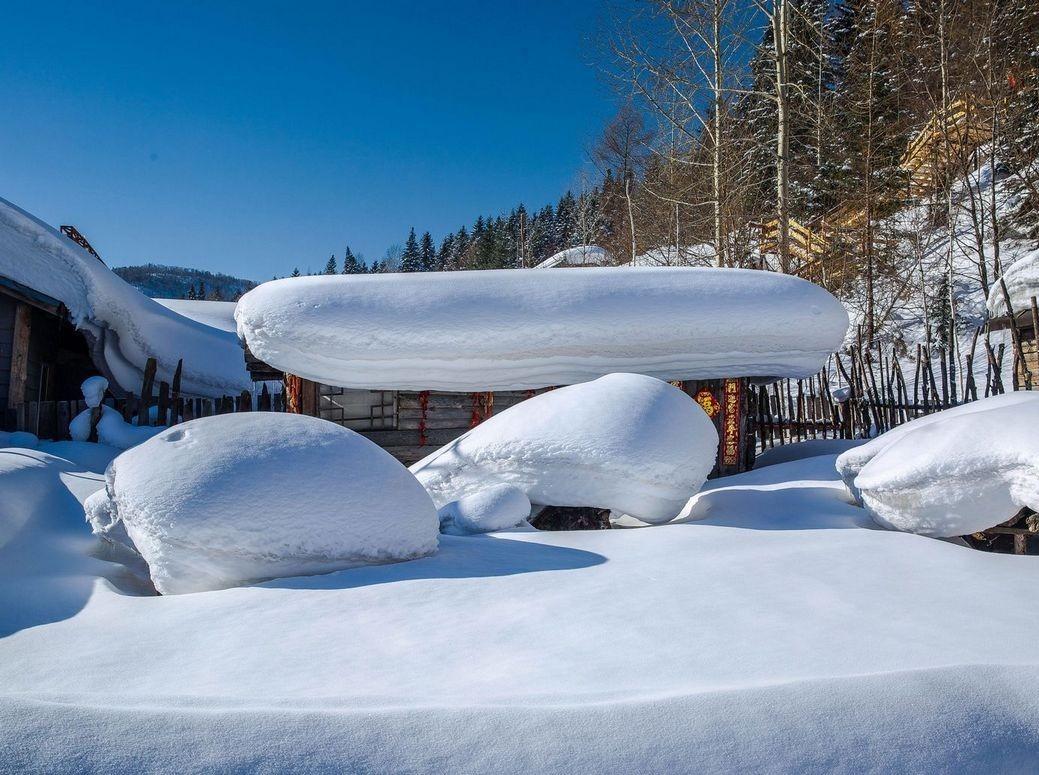 12月14-17号 雪乡 雪谷