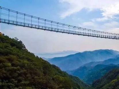 中秋9.22-23红崖谷玻璃桥,白鹿温泉