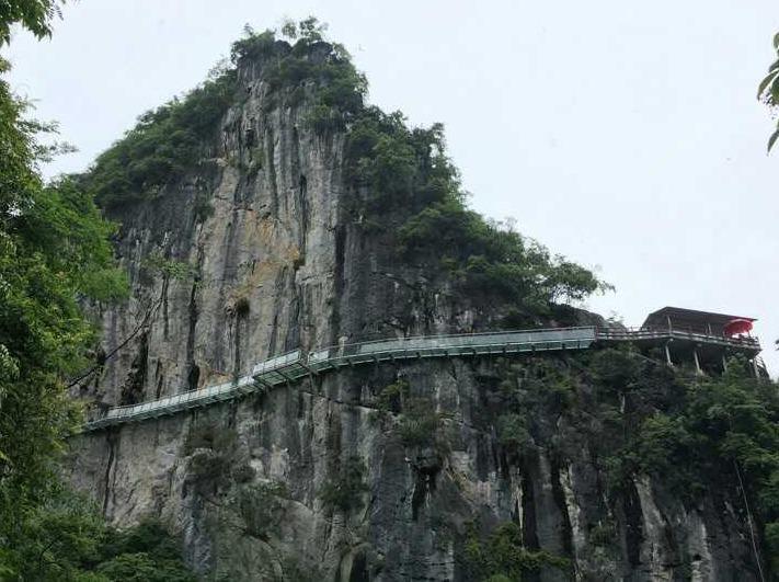 三江风雨桥、石门仙湖景区玻璃栈道休闲两天
