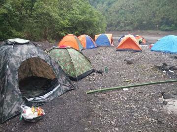 16.17胜天湖露营