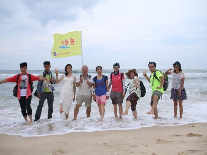6月22周六穿越惠州最美海岸咸台港踏浪