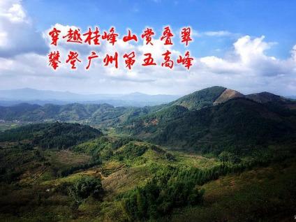 10.26日游从化柿子沟 登桂峰山