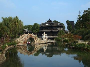 上海后花园之韩湘水博园