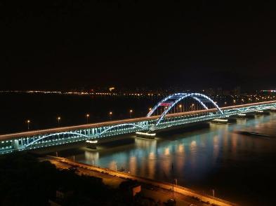 4月26号夜行近江→复兴大桥→江陵路