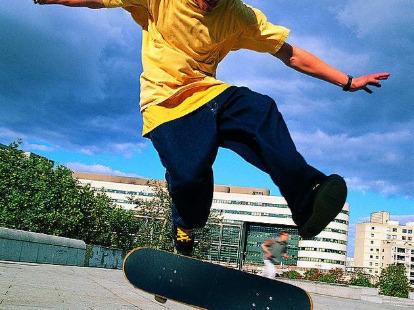 滑板交流,学习