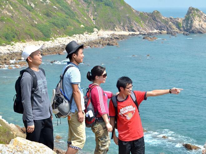 周末穿越最美海岸线东西冲 听涛看海 交友