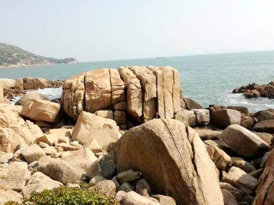 3月5日徒步穿越魅力咸台港 沙滩拾贝壳