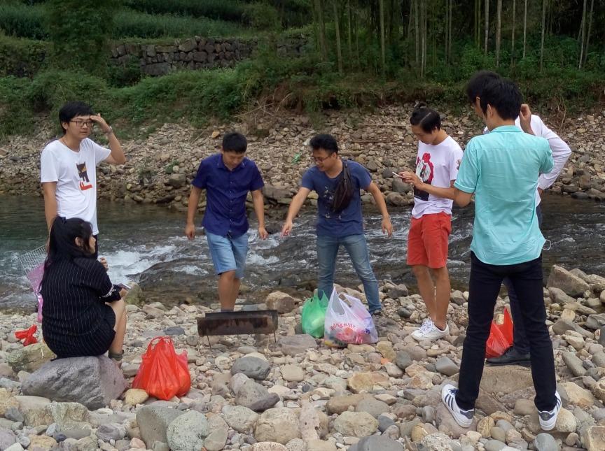 嵊州人在杭州总群 五一户外烧烤季