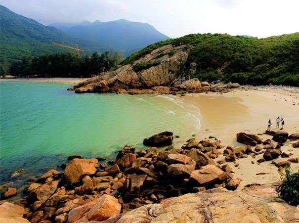 4月3日深圳最美海滩桔钓沙、七星湾穿越