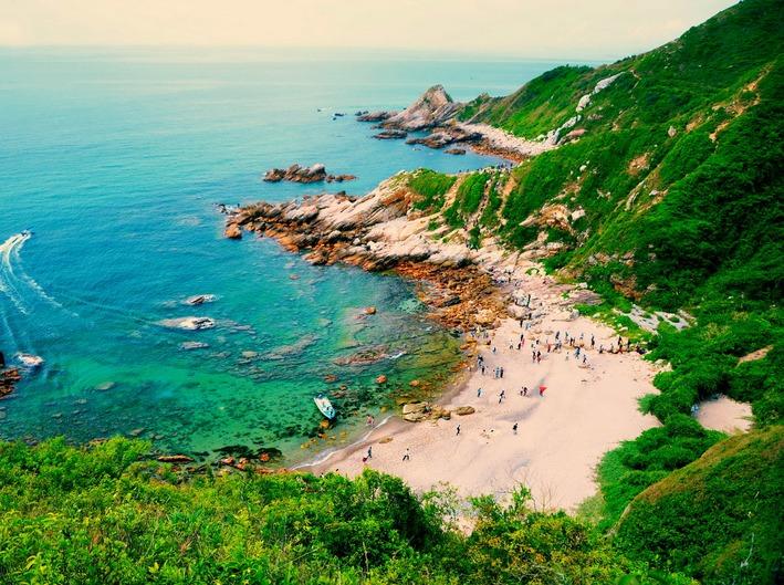 11月11日深圳东西冲海岸线穿越 一日游