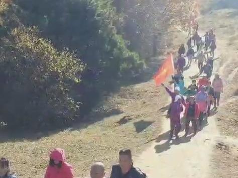 长春市公益徒步土门岭一日游活动