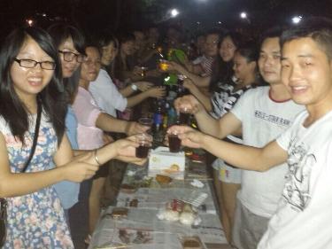 重阳佳节烧烤聚会