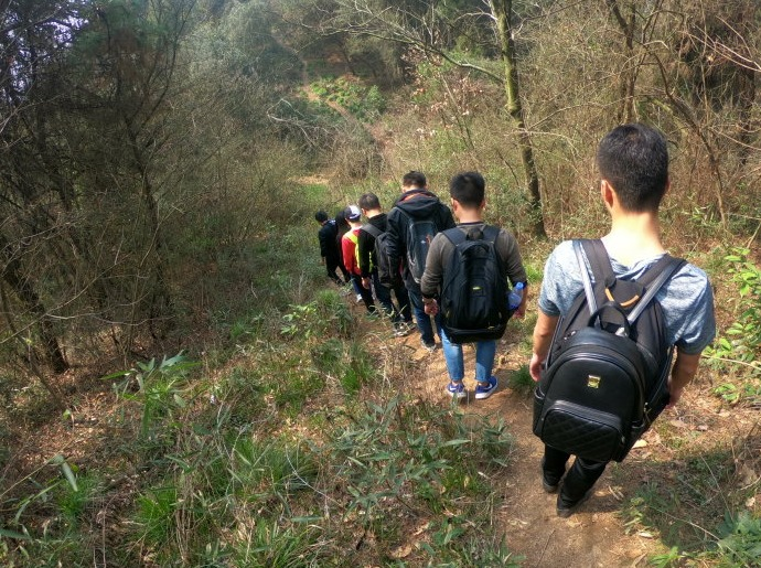 5月12日黄陂杨树堰穿越大顶山