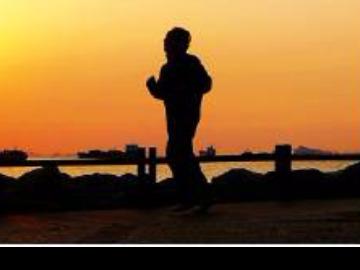 五一长假晨跑与健身