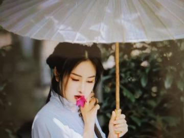 樱花园古装拍摄