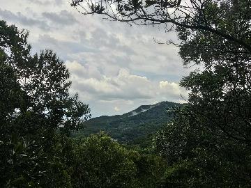 逢周末下午爬白云山,走西门小路,全程土路