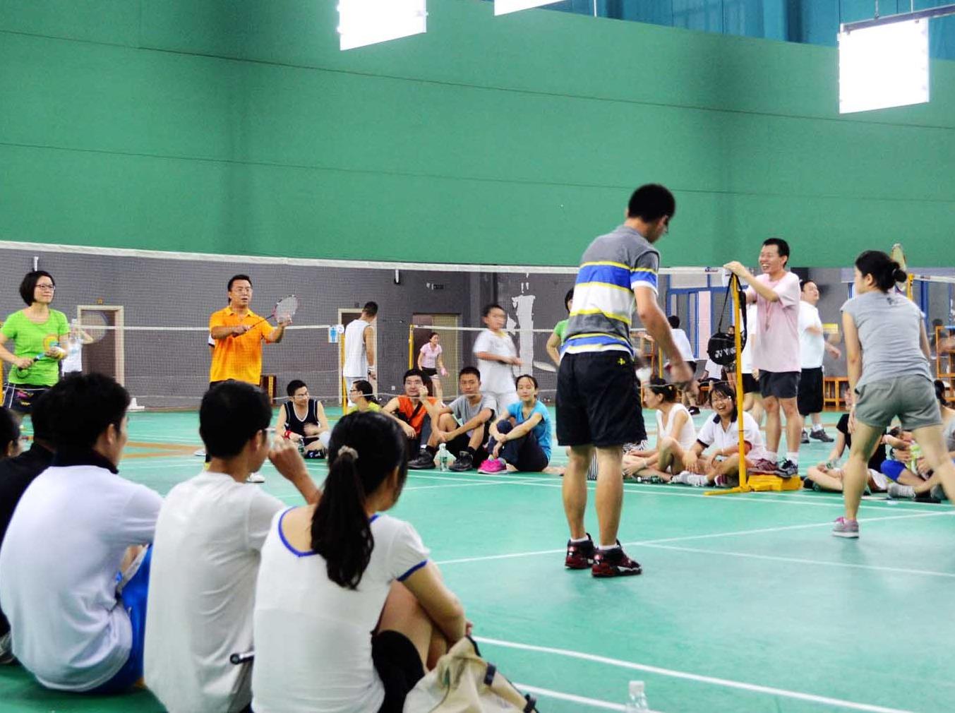 羽毛球友谊联赛