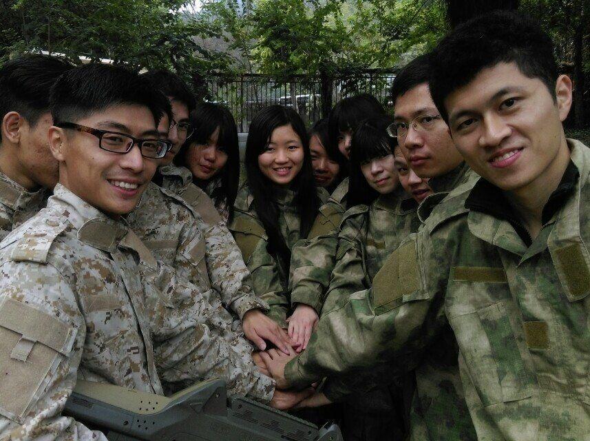 6.14潮阳越战·真人CS夜战凤肚公园