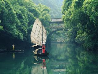 三峡大瀑布+清江画廊+三峡人家精典高品质