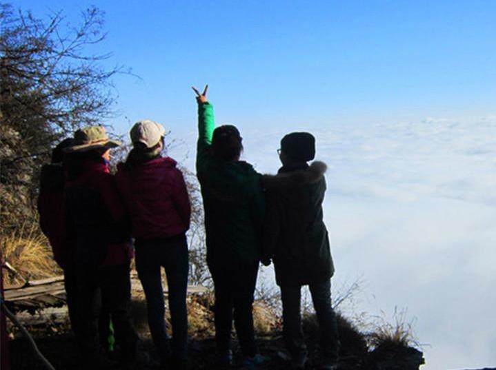 【九峰山】2月12日 一日游