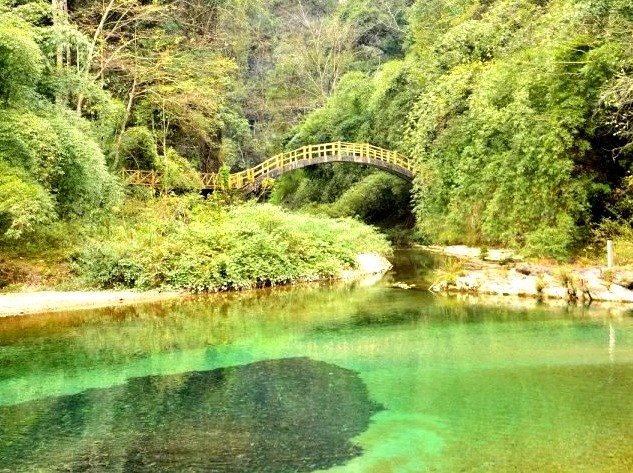 徒步穿越-杉木河