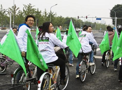 """单车""""一日游""""-相约玉林"""