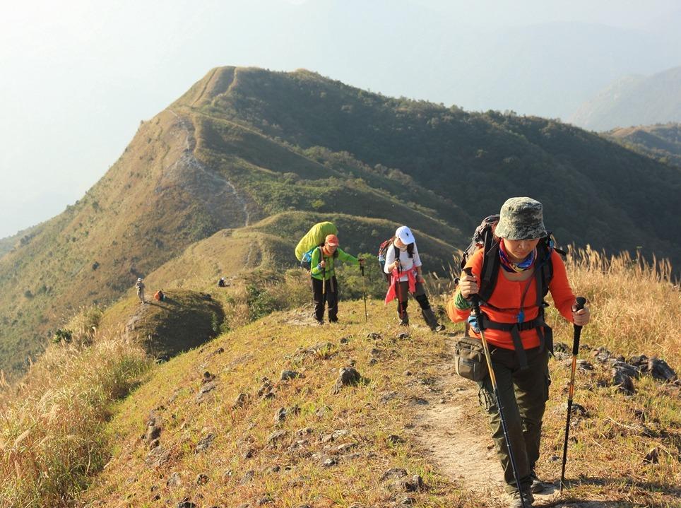 11月24日惠州大南山穿越、赏高山草甸