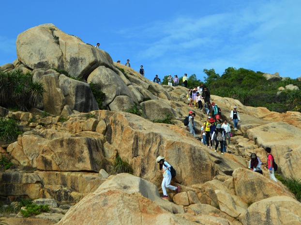12月2日惠州大星山穿越,勇闯巨石阵