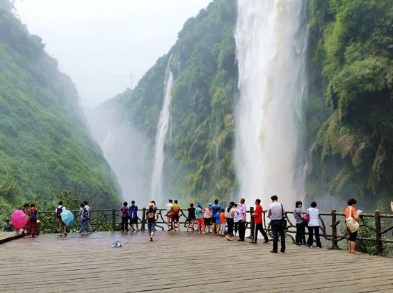 9月12-14日贵州马岭河、万峰湖三日游