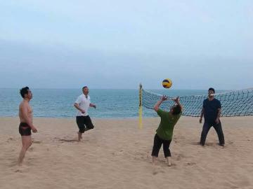 荣成业余沙滩排球活动