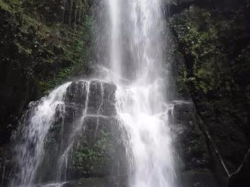 9月2日临桂茶洞白水滩瀑布