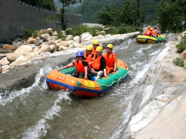 7月28日黄梅玫瑰谷激情漂流一日游