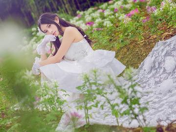 香蜜公园唯美婚纱人像摄影活动