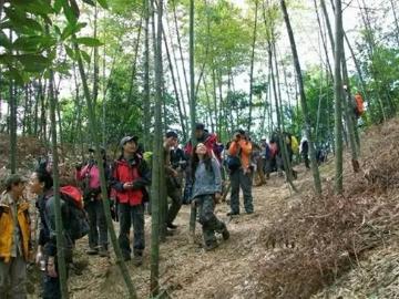 2月19日走进广东最美乡村:溪头村徒步