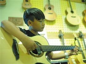 吉他公开课来平凉了