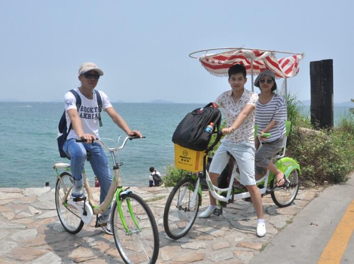 每周末两期杨梅坑 野炊 环海骑单车一日游