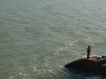 高栏港西沙湾钓鱼