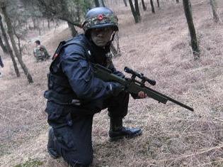 龙寺生态园真人CS对战活动