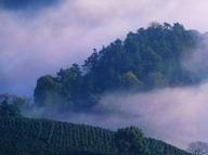 登缥缈峰,徒步山脊仙境,看太湖万顷风光.