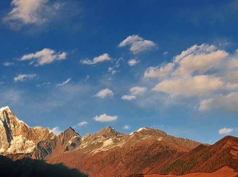 稻城亚丁和丹巴四姑娘山,无法言语形容的美