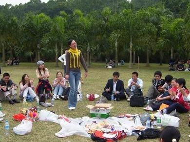 公园一日游衡阳春季偶遇节
