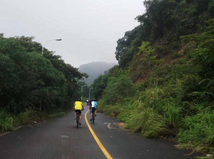周末12月1日骑行沙溪水库山地车公路车