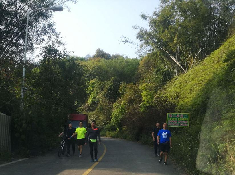 周末骑行帽峰山,运动单车-山地车公路车