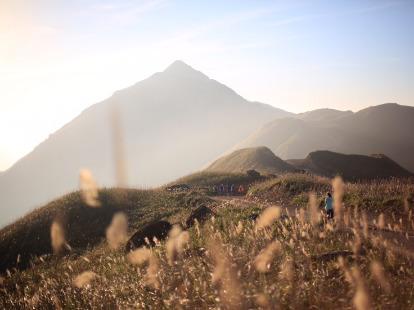 惠东大南山精华段登山徒步
