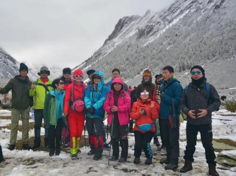 11月是贡嘎神山摄影天堂的地方