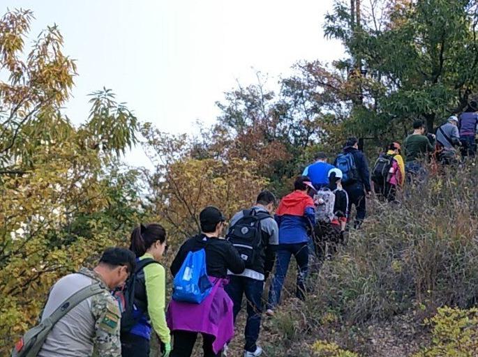 连川户外10月27日五岔营桥~横山寺穿越